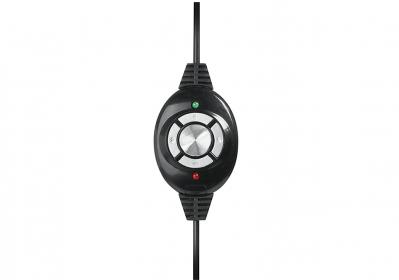 Media-Tech Nemesis fekete-piros mikrofonos gamer fejhallgató (MT3574)