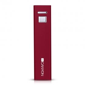 CANYON CNE-CSPB26R 2600 mAh piros PowerBank