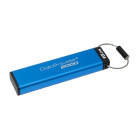 KINGSTON DataTraveler2000 Keypad 16GB USB3.0 Kék Pendrive (DT2000/16GB)