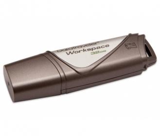 KINGSTON DataTraveler Workspace 32GB USB3.0 Grafit-Ezüst Pendrive (DTWS/32GB)