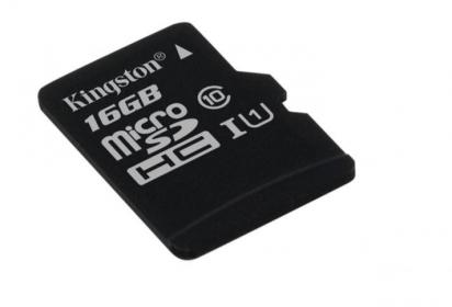 Kingston 16GB SD micro (SDC10G2/16GBSP) memória kártya