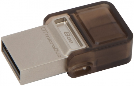 KINGSTON DataTravel microDuo 8 GB USB 2.0/micro USB Pendrive(DTDUO/8GB)