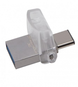 KINGSTON DataTraveler microDuo 3C 16GB USB3.1 Ezüst Pendrive (DTDUO3C/16GB)