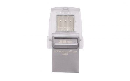 KINGSTON DataTraveler microDuo 3C 32GB USB3.1 Ezüst  Pendrive (DTDUO3C/32GB)