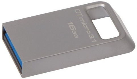 KINGSTON DataTraveler Micro 16GB USB3.1 Ezüst Pendrive (DTMC3/16GB)