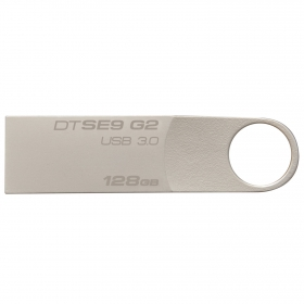 KINGSTON DataTraveler SE9 G2 128GB USB3.0 Ezüst  Pendrive (DTSE9G2/128GB)