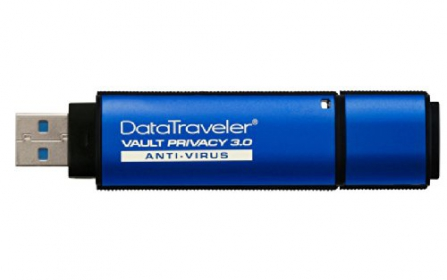 KINGSTON DataTraveler Vault Privacy 3.0 Anti-Virus 32GB Pendrive(DTVP30AV/32GB)