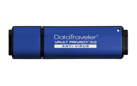KINGSTON DataTraveler Vault Privacy 3.0 Anti-Virus 8GB Pendrive(DTVP30AV/8GB)