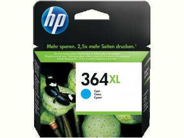 HP 364XL ciánkék tintapatron (CB323EE)