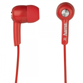 Hama HK-2103 vörös fülhallgató (122725)