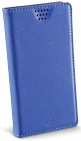 Cellularline Book Case ''XL'' univerzális kék telefontok (BOOKUNI1LB)