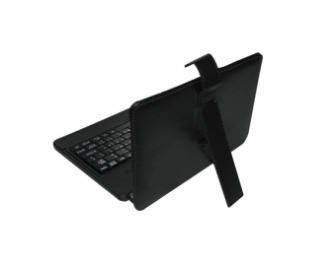 VAKOSS TK-556UK  10,1'' fekete angol billentyűzetes tablet tok