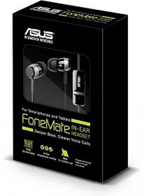 Asus Fonemate fekete fülhallgató (90YH00N1-B1UA00)
