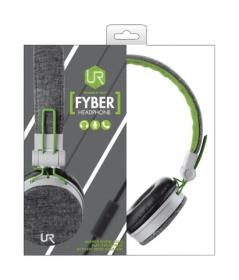Trust Urban Fyber mikrofonos szürke-zöld headset (20080)