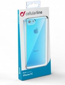 Cellularline Boost iPhone 5C kék telefontok (  BOOSTIPH5CB)