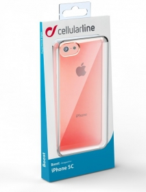Cellularline Boost iPhone 5C pink telefontok (BOOSTIPH5CP)