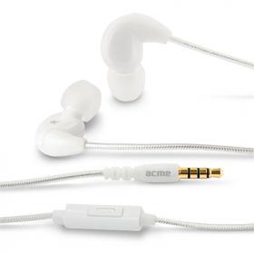 ACME HE16 Harmonic fehér mikrofonos fülhallgató (ACFHHE16W)
