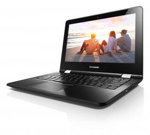 Lenovo YOGA 300 11'' 80M1001BHV Fekete Notebook