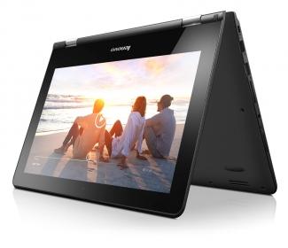 Lenovo Yoga 300 11'' 80M1001UHV Fekete Notebook