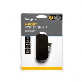Targus 4 Port Mobile USB 2.0 fekete USB hub (ACH111EU)