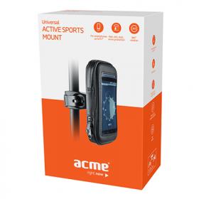 Acme MH04 univerzális fekete okostelefon tartó kerékpárhoz