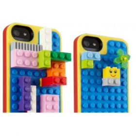 Belkin Lego Craft iPhone 6/6S Plus kék-sárga telefontok (F8W649BTC00)