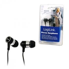 Logilink Sztereó fülhallgató, fekete (HS0015)