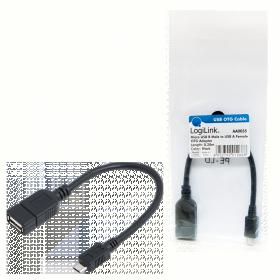 LogiLink USB micro USB OTG kábel (AA0035)