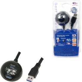 LogiLink USB 3.0 hosszabbító kábel dokkolóval (CU0035)
