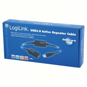 LogiLink USB 2.0 hosszabbító kábel (UA0143)