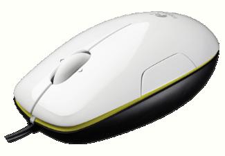 Logitech M150 Coconut USB lézer fehér-fekete egér (910-003754)