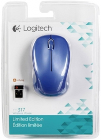 Logitech M317  wireless optikai kék egér(910-004151)