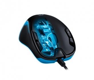 Logitech G300S USB optikai fekete-kék gamer egér (910-004345)