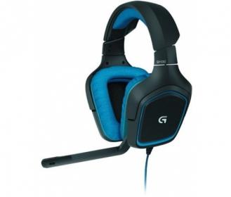 LOGITECH G430 Gaming fejhallgató Kék (981-000537)