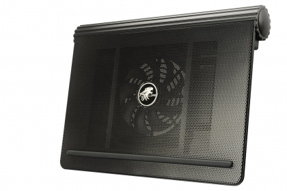 Lepa S17 notebook hűtő beépített Premium Bass hangszóróval (LPDAU1701)