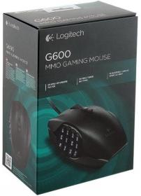 Logitech G600 USB lézer fekete gamer egér (910-002865)