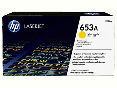 HP 653A sárga toner (CF322A)
