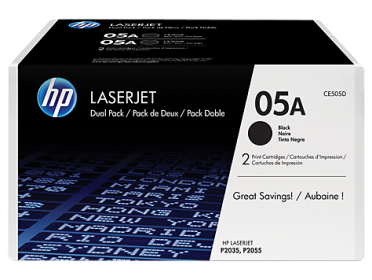 Hp 05A fekete 2 db-os toner (CE505D)