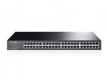TP-LINK TL-SF1048 48 portos 10/100 Mbps rackbe szerelhető Switch