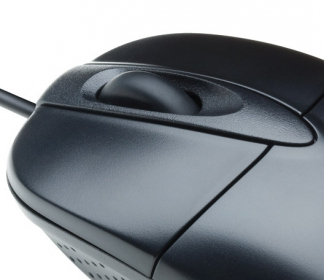 V7 M30P10-7E USB optikai fekete egér