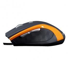 MODECOM MC-M5 USB optikai fekete-narancssárga egér (M-MC-00M5-160)