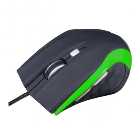 MODECOM MC-M5 USB optikai fekete-zöld egér (M-MC-00M5-180)
