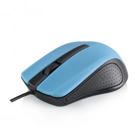 MODECOM MC-M9 USB optikai fekete-kék egér (M-MC-00M9-140)