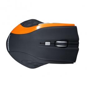 MODECOM MC-WM5 wireless optikai fekete-narancssárga egér (M-MC-0WM5-160)