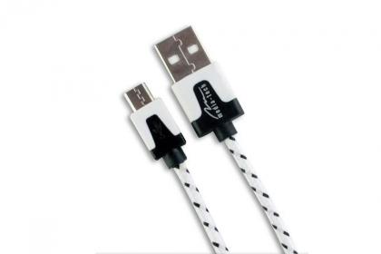 Media-Tech Micro USB kábel Fehér (MT5102W)