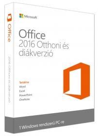 Microsoft Office 2016 Otthoni és diákverzió (79G-04333)