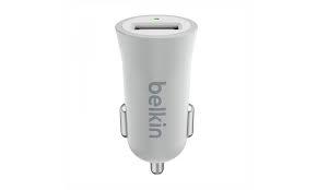 Belkin MIXIT UP USB ezüst-fehér autós töltő (F8M730BTSLV)