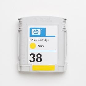 HP 38 pigment sárga tintapatron (C9417A)