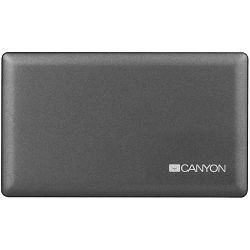 CANYON Alli in One CardReader fekete memóriakártya olvasó (CNE-CARD2)