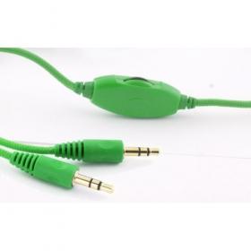 ESPERANZA HORNET zöld-fekete mikrofonos fejhallgató (EH153G)